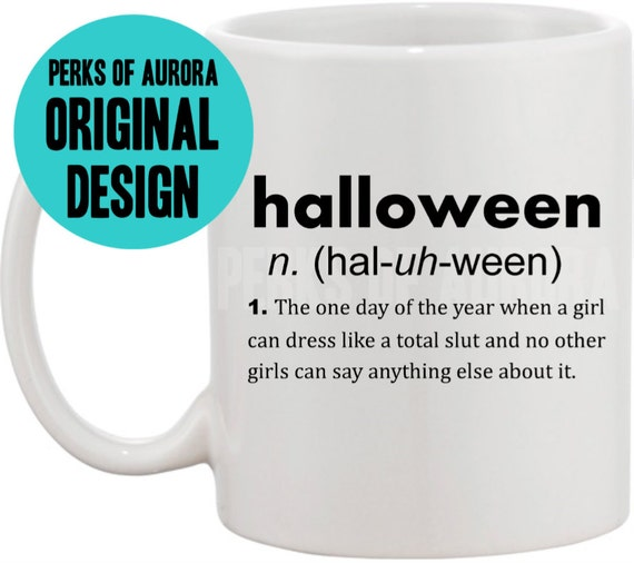 Items similar to Mean Girls- Halloween definition coffee mug on Etsy