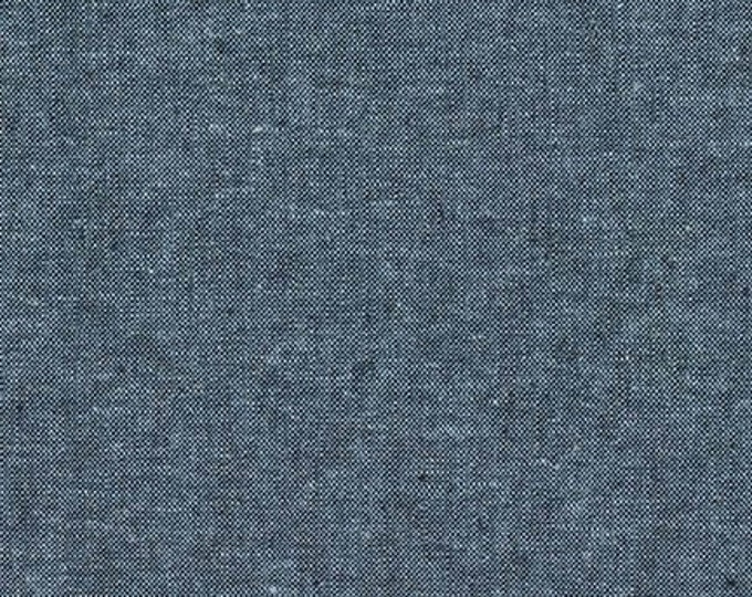 Robert Kaufman Yarn Dyed Essex - Nautical - Cotton Fabric