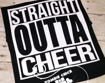 Straight Outta Cheer T Shirt