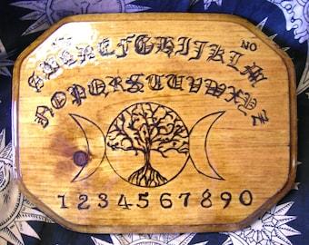Moon Tree Ouija Board, Medium Octagon