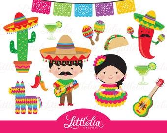 Fiesta clipart - Mexican circo de Mayo clipart - 15058