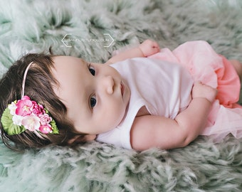 The Pink Fairy Kissed Headband/Hair Clip