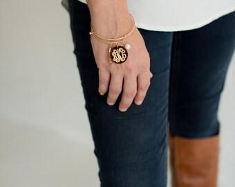 Monogrammed Serendipity Charm Bracelet