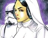 Princess Leia Sketch