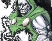 Doctor Doom Sketch