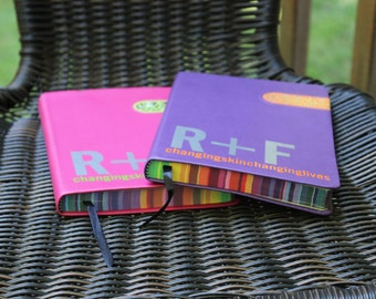 Leather Notebook with R&F decal