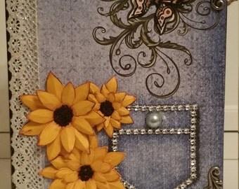 Sunflower Mini Photo Album