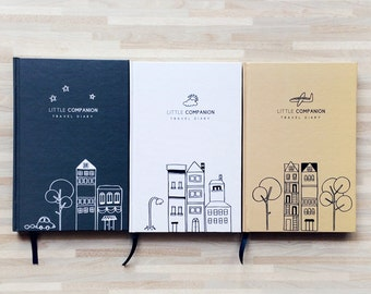 Little Companion - Compact & Slim Travel Diary / Journal / Book / Travel Planner