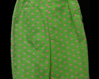 1960s Floral Printed Shorts - Super cute *Free Shipping*