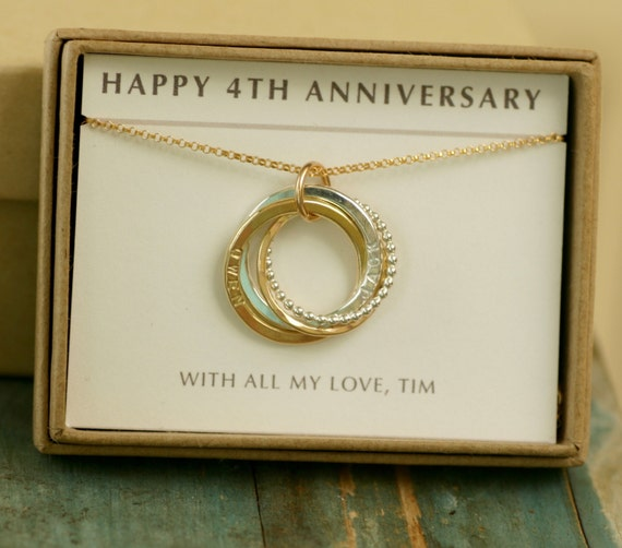 Wedding Gifts For 4th Anniversary : 4th anniversary gift for her, wife gift, wedding gift bride, 4 year ...