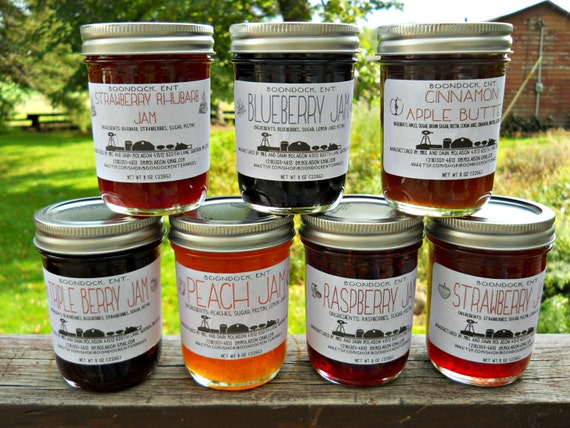 Homemade Jam Over 50 Flavors Of Jam Jelly By