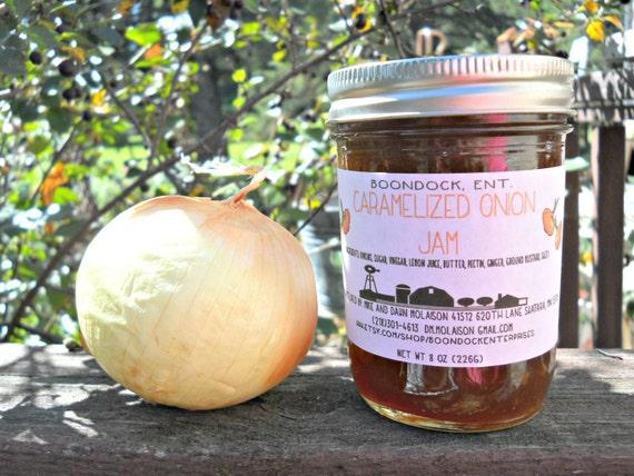 Caramelized Onion Jam - Onion Jam - Savory Jam - Meat Marinade ...