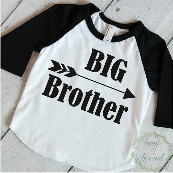 Items similar to big brother shirt baby announcement shirt for Big sister birth announcement shirts