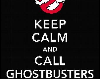 Ghostbusters Blanket Graph Pattern