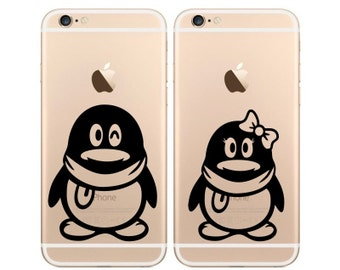 Penguins Set iPhone 6 Decal iPhone 6 Sticker Phone Decal