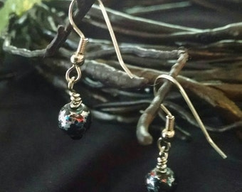 Beaded Sparkle Earring