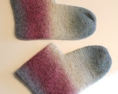 Felted slippers, warm socks for homewear, size 38