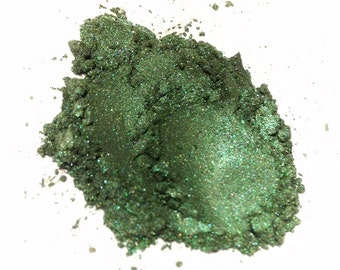 RAIN FOREST Mineral Eye Shadow - Natural Makeup - Gluten Free Vegan Face Color