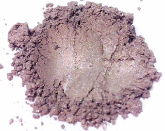 PLUM SHIVER Mineral Eye Shadow - Natural Makeup - Gluten Free Vegan Face Color