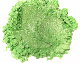 KEY LIME Mineral Eye Shadow - Natural Mineral Makeup - Gluten Free Vegan Face Color