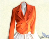 Autumnal Jacket,M Size Women Jacket,Orange Jacket