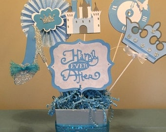 Cinderella Birthday Party Centerpieces Decorations Princess