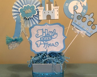 Cinderella Birthday Party  Centerpieces, Birthday Party Centerpieces/ Decorations/Princess Party Decorations