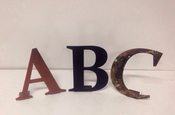 custom 3 inch metal letters and numbers by With 3 inch metal letters