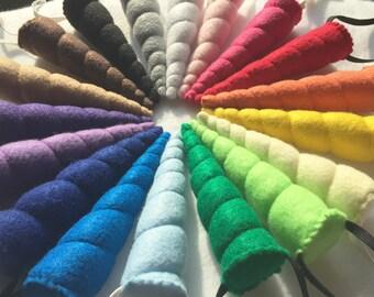 CUSTOM Choose your color custom Unicorn Horn, wearable unicorn horn, unicorn costume, unicorn headband