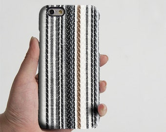 Fabric Stripes iPhone 6 Case,iPhone 6 Plus Case,iPhone 5s Case,iPhone 5C Case,4/4s ,Samsung Galaxy S6 Edge/S6/S5/S4/S3/Note 3/Note 2 Case