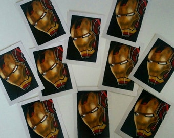 Iron Man Postcard Sized Print