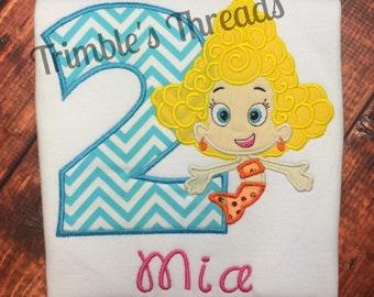 Deema Bubble Guppies Birthday Shirt / Deema Burthday Shirt