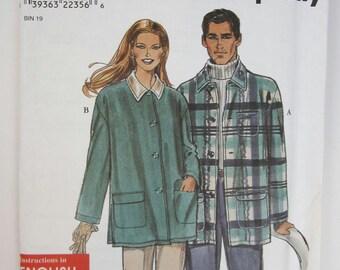 Simplicity 8461 Jacket Sewing Pattern Sizes XS to XL Uncut