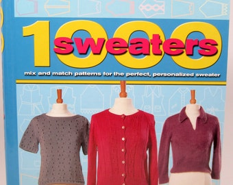 1000 Sweaters Mix & Match Patterns by Amanda Griffiths