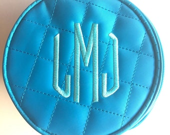 Monogrammed Round Bag - Jewelry
