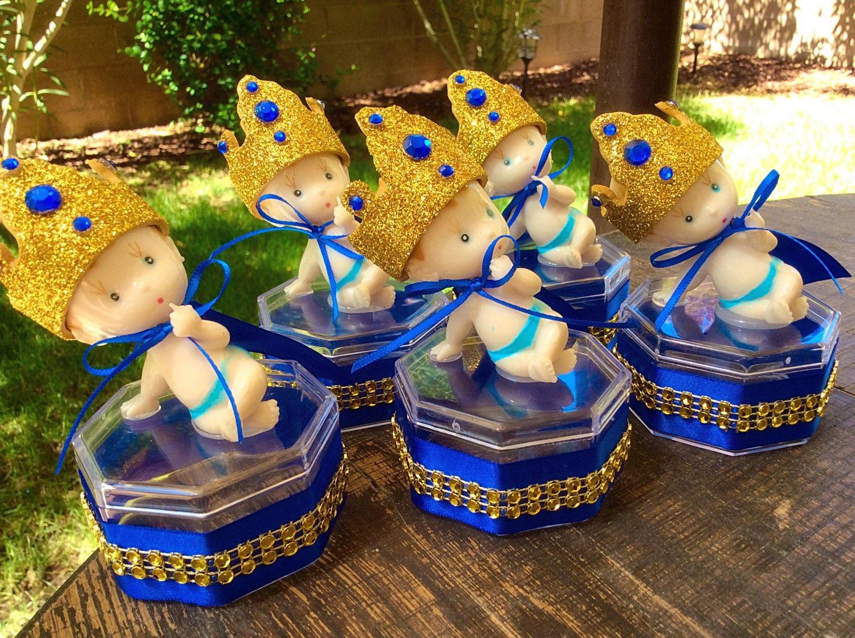 royal blue baby shower