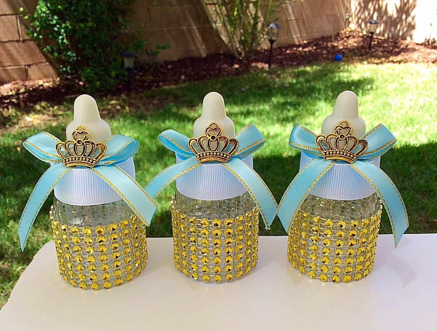 12 royal prince baby shower favors little by marshmallowfavors for A new little prince baby shower decoration kit