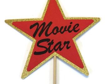Photo Booth Prop - Movie Star Prop