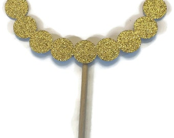 Photo Booth Props- Necklace- Photo Booth Props with Glitter