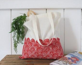 Organic cotton 'Shells' Tote Bag