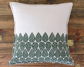 Organic Cushion cover- 'Rain'