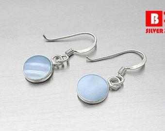 925 Sterling Silver Earrings, Hook Earrings (Code : EY35B)