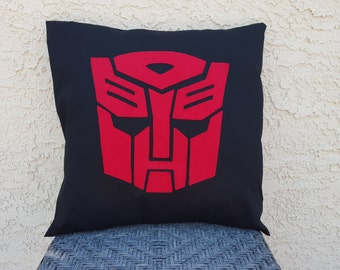 Transformers Autobot Pillow Cover