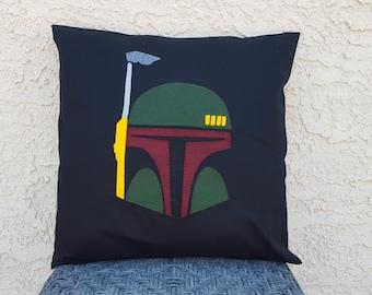Boba Fett Pillow Cover