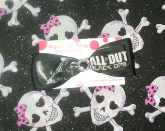 Call of Duty inspired Hair Bow