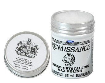 Renaissance Wax Polish 200 Ml Jewelry Antiques Polish Wood Metal Jewelry WA 417-022