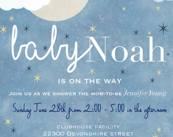 Stars and Moon Baby Shower