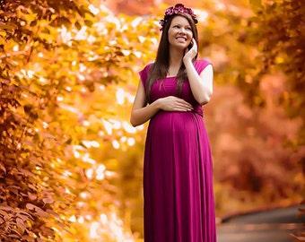 Azalea dress infiniti top / maternity dress / maternity shoot / photoshoot / gown / maternity gown