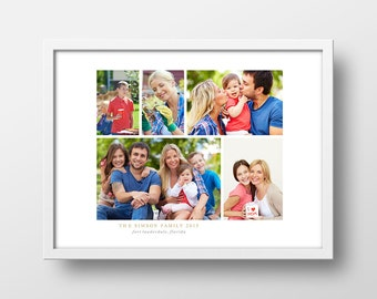 Personalized Photo Gift | Custom Photo Gift | Gift for Mom | Gift for Grandparents | Unique Photo Gift | Photo Keepsake | Holiday Gift