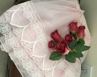 Sale// Vintage// JEANNE d' ARC// Peticoats// Set of 2// Tulle// Full Of Lace AND Frills// Gorgeous!!